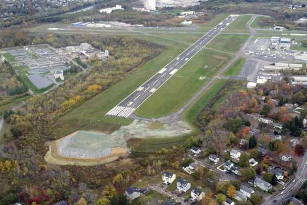 Lawrence Airport Runway Reconstruction